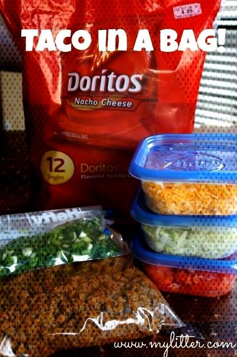 Taco Salad In A Bag! – Perfect for camping and kids! -  Taco Salad In A Bag! – Perfect for camp