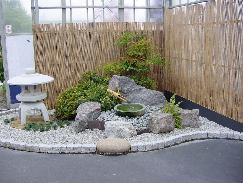 80 Stunning Rock Garden Landscaping Design Ideas Setyouroom Com Japanese Rock Garden Small Japanese Garden Zen Garden Design