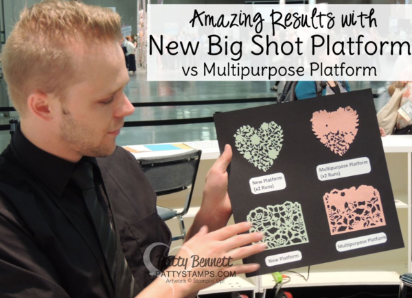 This Is Why You Need The New Stampin UP Big Shot Platform Die Cuts Intricate Dies With Ease Click Shop Online At Pattystamps And Enter Item
