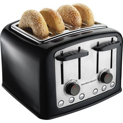 Hamilton Beach Smarttoast 4 Slice Cool Wall Toaster Meijer
