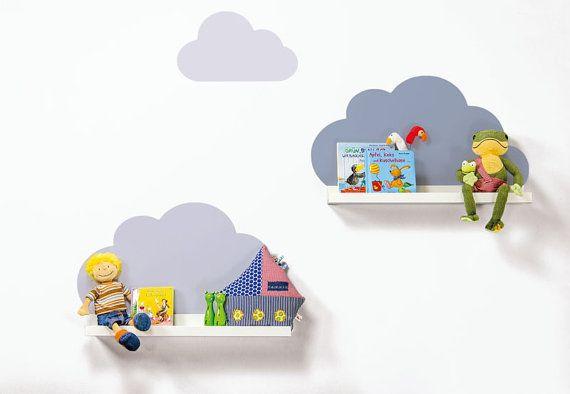 Baby Geschenk / Babyzimmer Dekoration: Wolken von Limmaland auf Etsy
