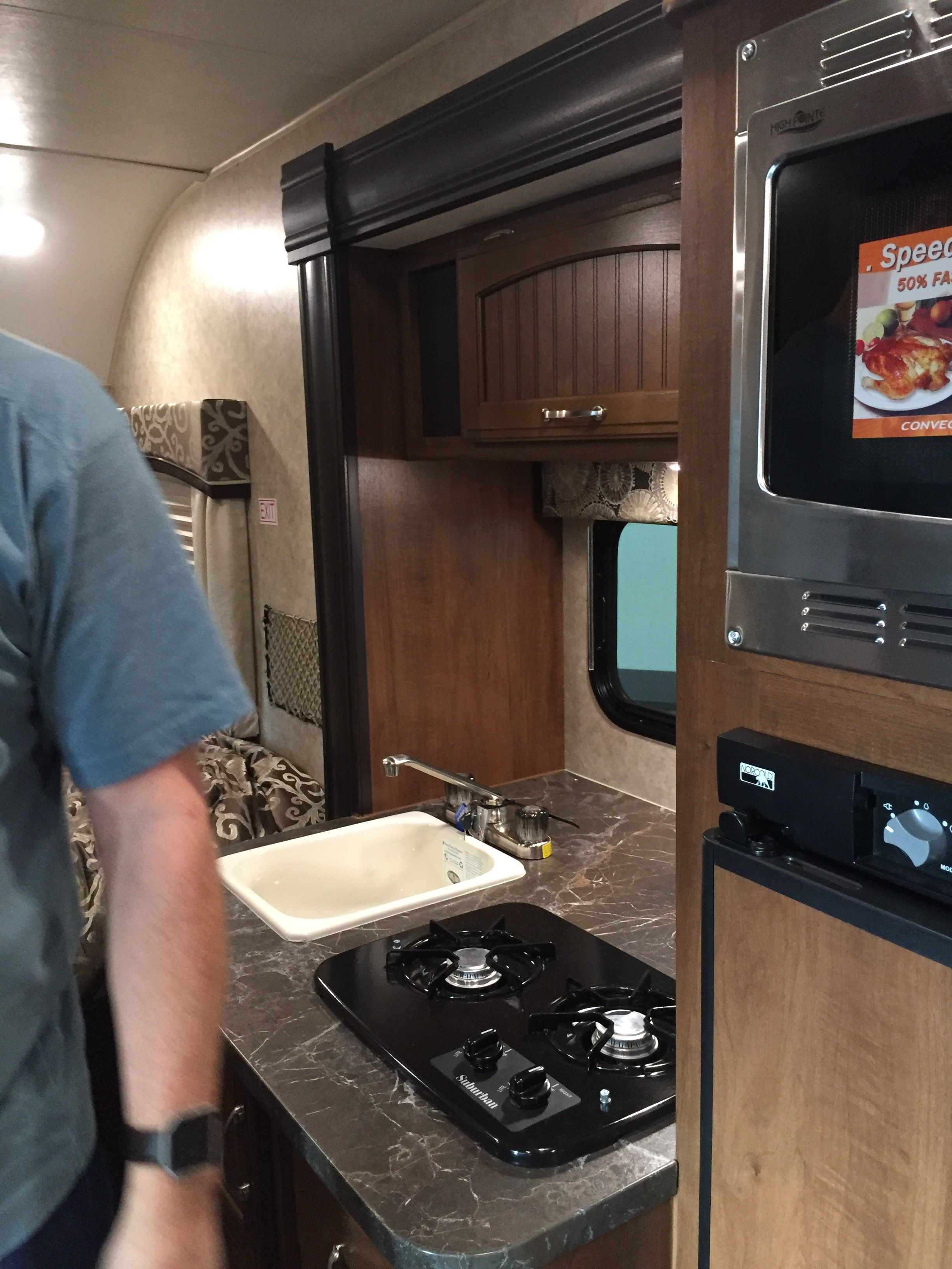 Pin By Shar Puch On Mini Campers Mini Camper Kitchen Cabinets