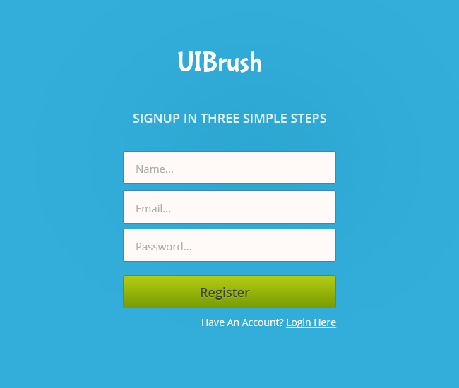 signup form templates