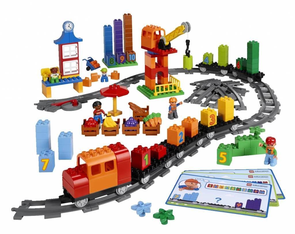 Duplo Duwtrein Rekentrein Kinderen En Onderwijs Pinterest Lego 10593 Fire Station Trein Met Cijfers Van Education Voor Scholen Kinderopvang