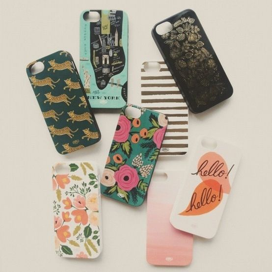Rifle Paper Co. Made iPhone cases! Can I have all of them?!