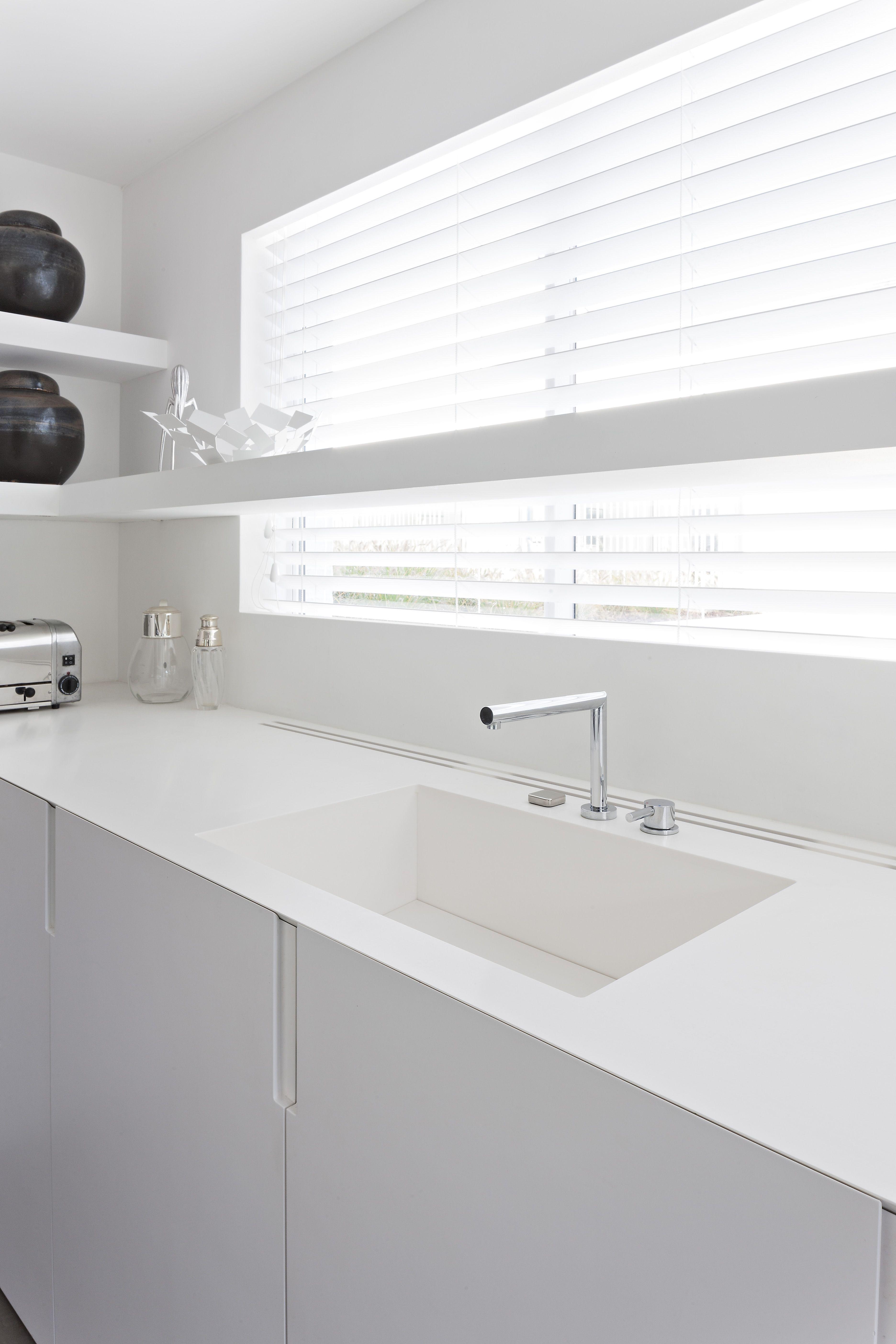 Integrated Corian Sink By Liedssen Kuche Spulbecken Wohnung Kuche Haus Kuchen