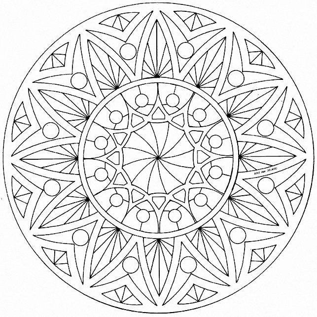 Mandalas | Mandala, zentangle and doodle inspiration | Pinterest ...