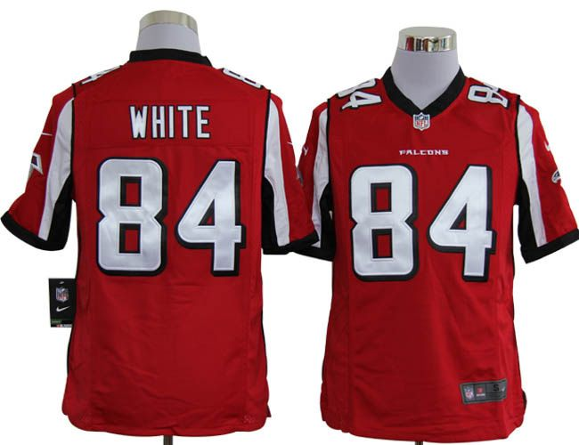 low priced 15dd6 e1843 Game #84 red White Atlanta Falcons jerseys ID:775300932 $23 ...