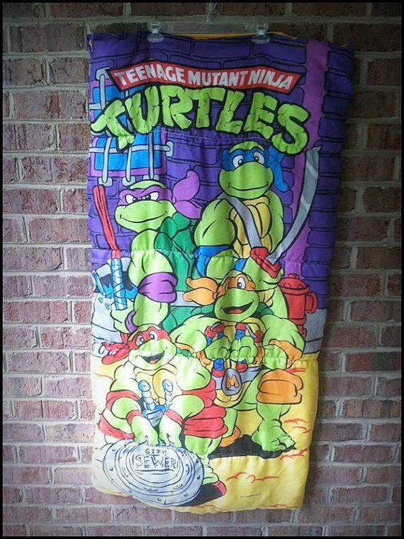 Vintage 80 S Age Mutant Ninja Turtles By Charchaicvintage 25 00