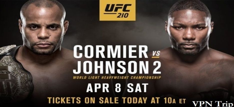 UFC 210 match that Fox Sports will be broadcasting this