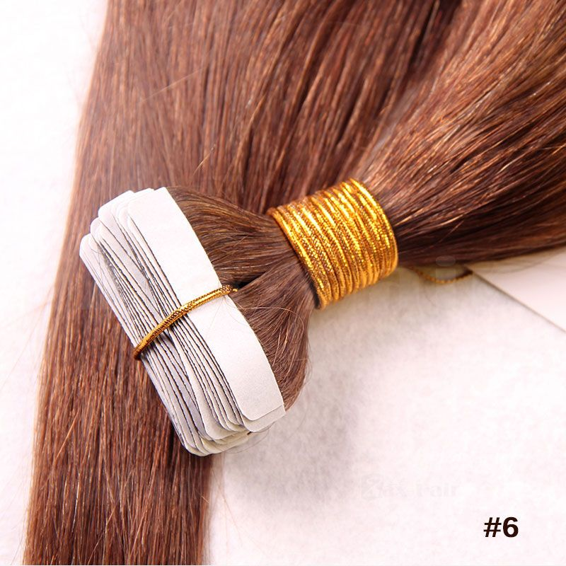 10 30 inch tape in human hair extensions 6 light brown straight 10 30 inch tape in human hair extensions 6 light brown straight 20 pcs mozeypictures Gallery