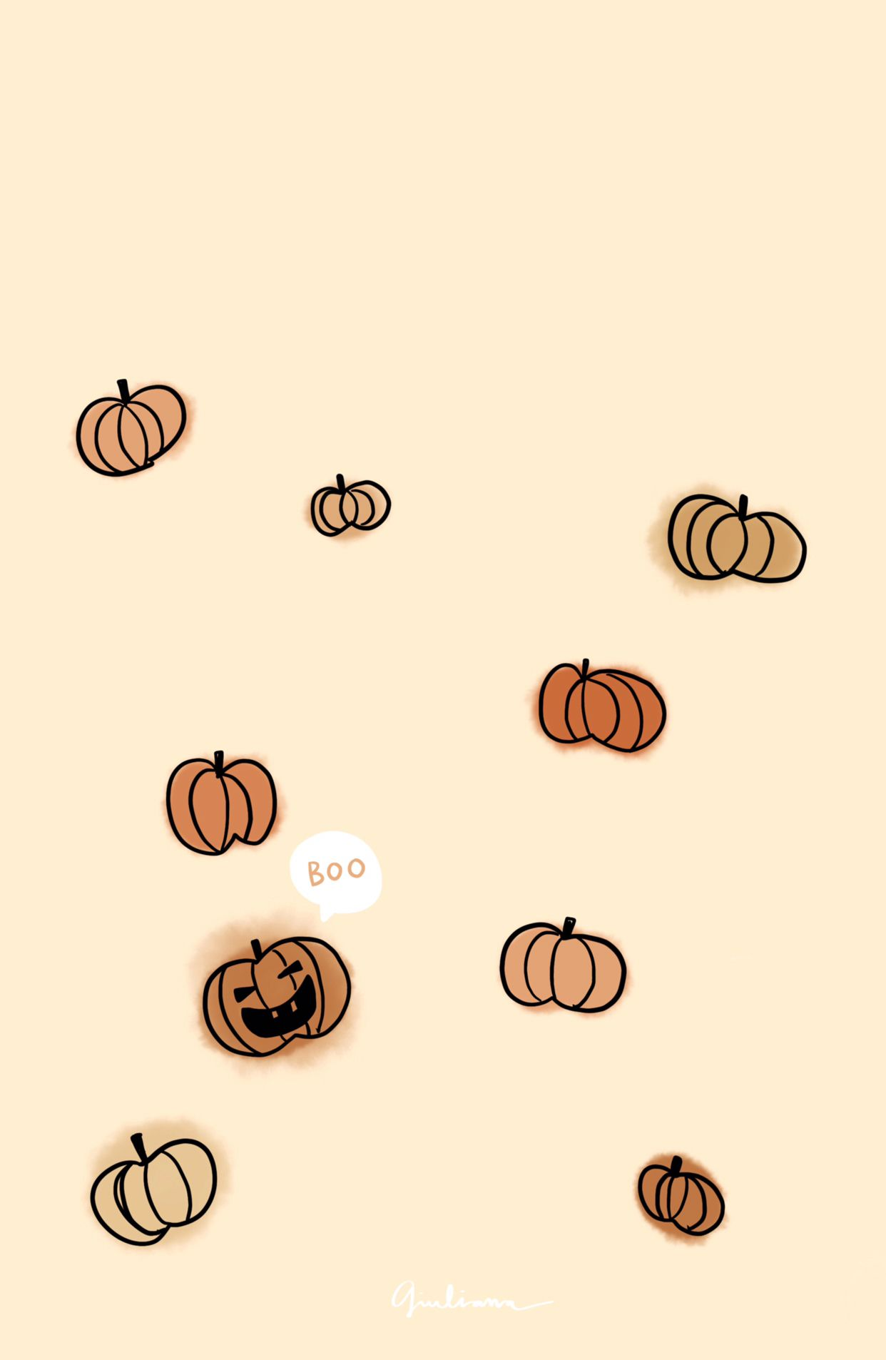 Fall Fallwallpaper Wallpaper Iphone Candles Illustrations