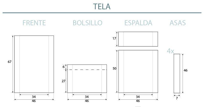 DIY Roll-top mochila | tab10 | Pinterest
