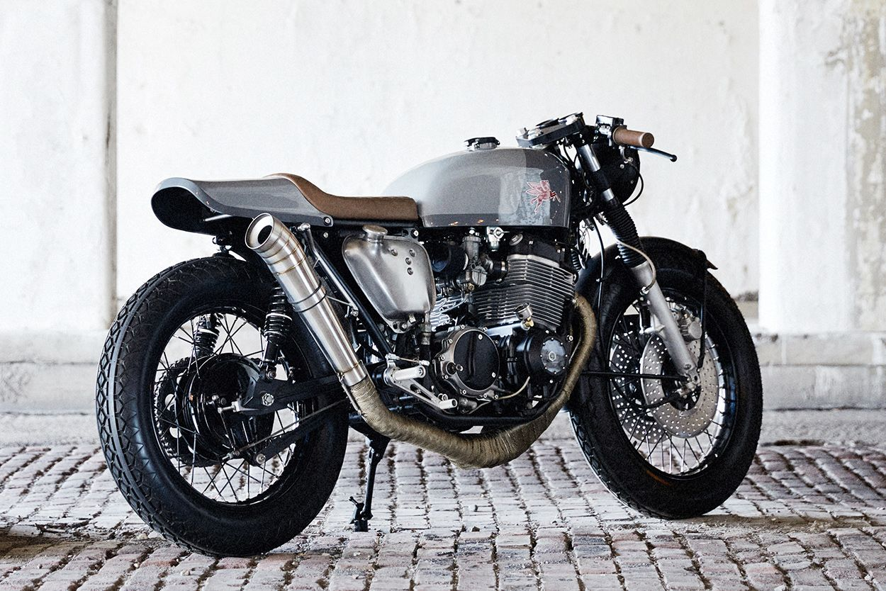 Classic style: A Honda CB750K cafe racer by Federal Moto