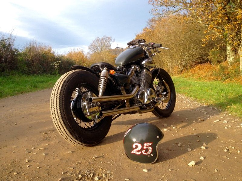 Bobber sur base Virago 535 Page 3 Mostly motorcycle