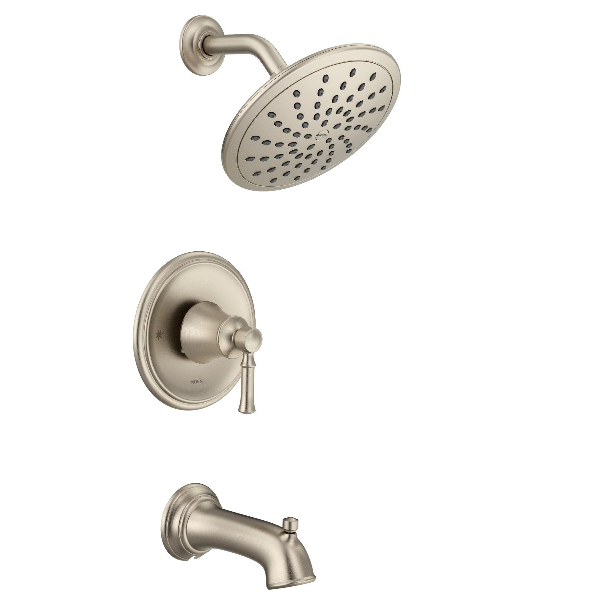 Moen Dartmoor Posi Temp R Tub Shower Brushed Nickel T2283epbn