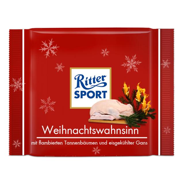 Fake-Sorte Weihnachtswahnsinn - RITTER SPORT Blog