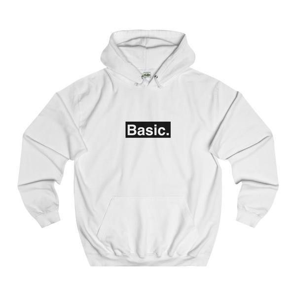 BASIC Hoodie Auriolus Fashion ❤ liked on Polyvore featuring tops and hoodies
