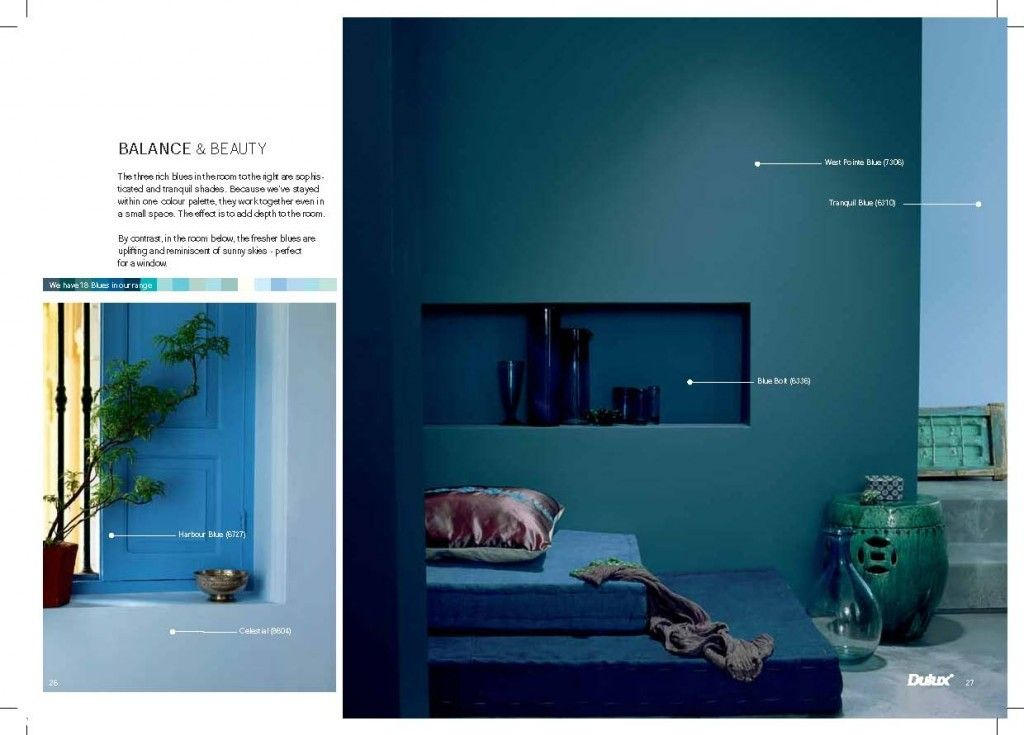 Balance And Beauty Blue Colours In Ici Dulux Lr Guide The