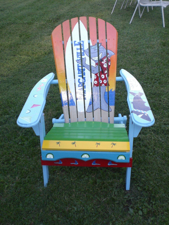 Me gusta al patio. Yo veo el sillón azul y amarillo y verde y rojo y ...