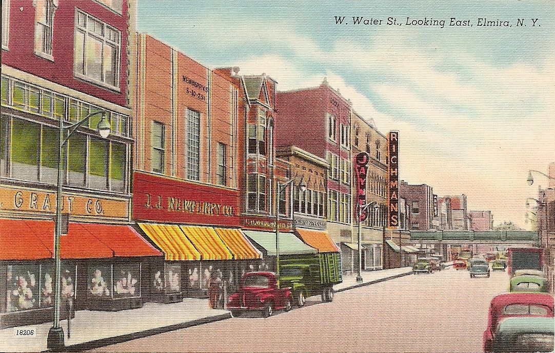 Five And Dime Stores History Typical Downtown In Smaller Towns