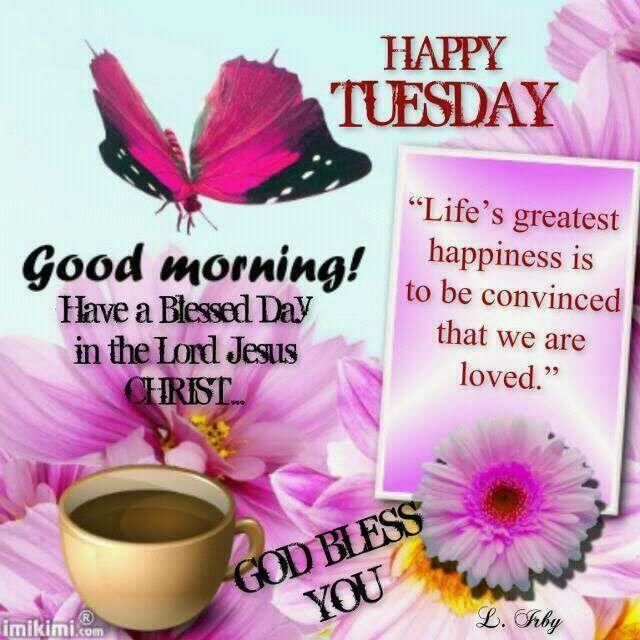 Happy Tuesday Good Morning Good Morning Tuesday Tuesday Quotes