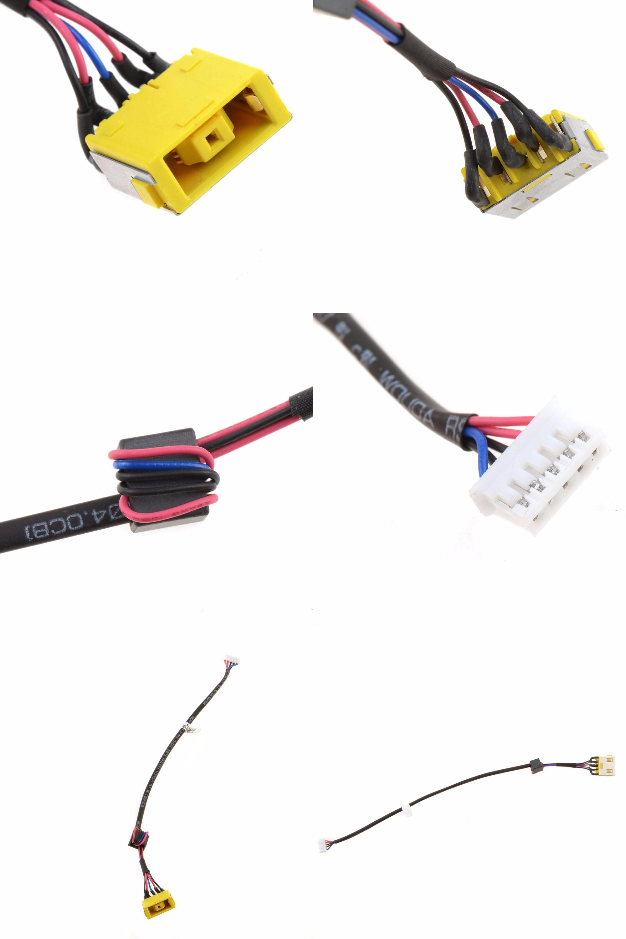 Visit to Buy] Notebook Replacement DC Power Jack Socket Harness ...