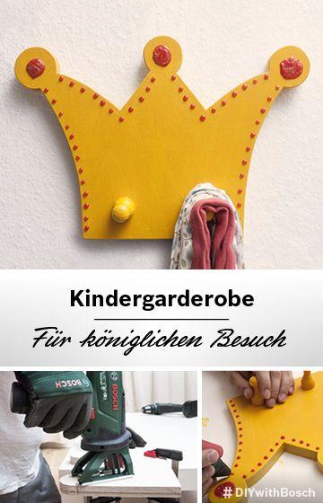 Für Prinzessinnen: royale Kinderzimmer-Garderobe