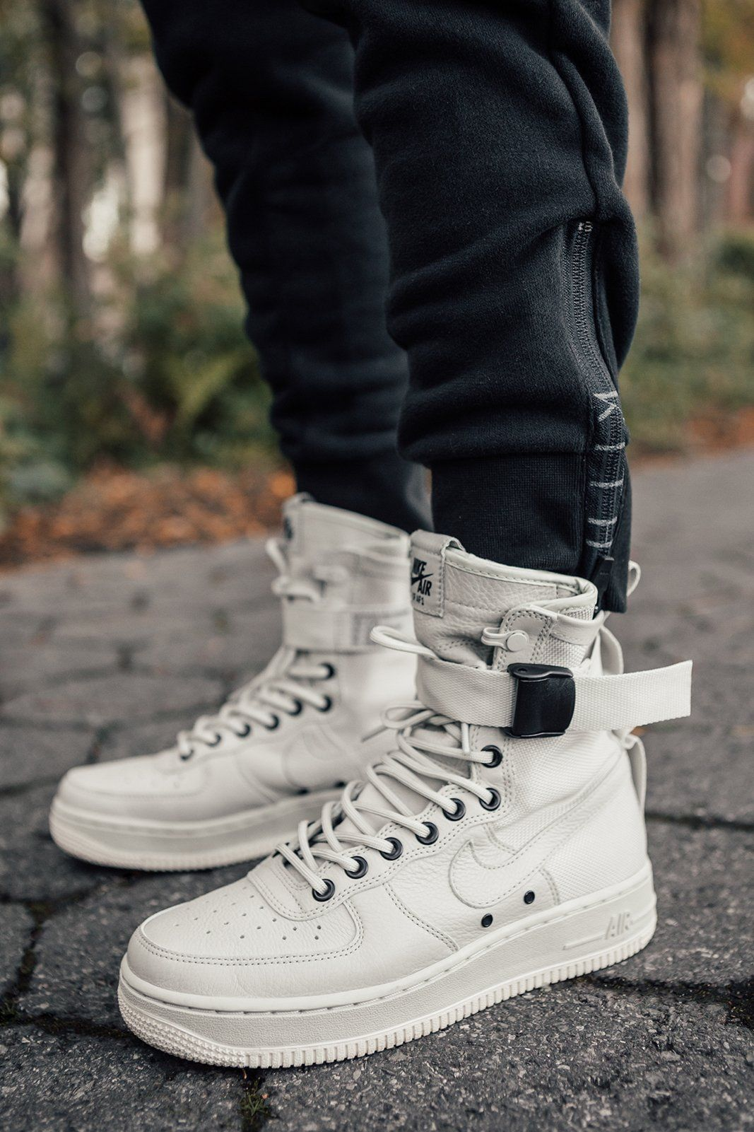 1862f776ce4 Kith partners with Nike to shoot an editorial to launch the all-new SF AF-1  collection. The Air Force 1 s classic design has been the foundation for a  ...