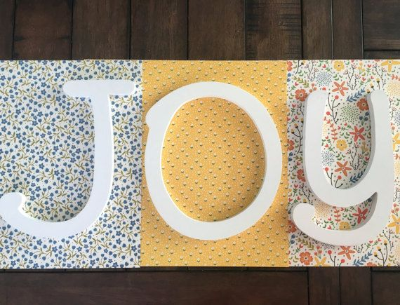 Custom Wood Letters, Floral Theme Nursery Letters, Girls Bedroom