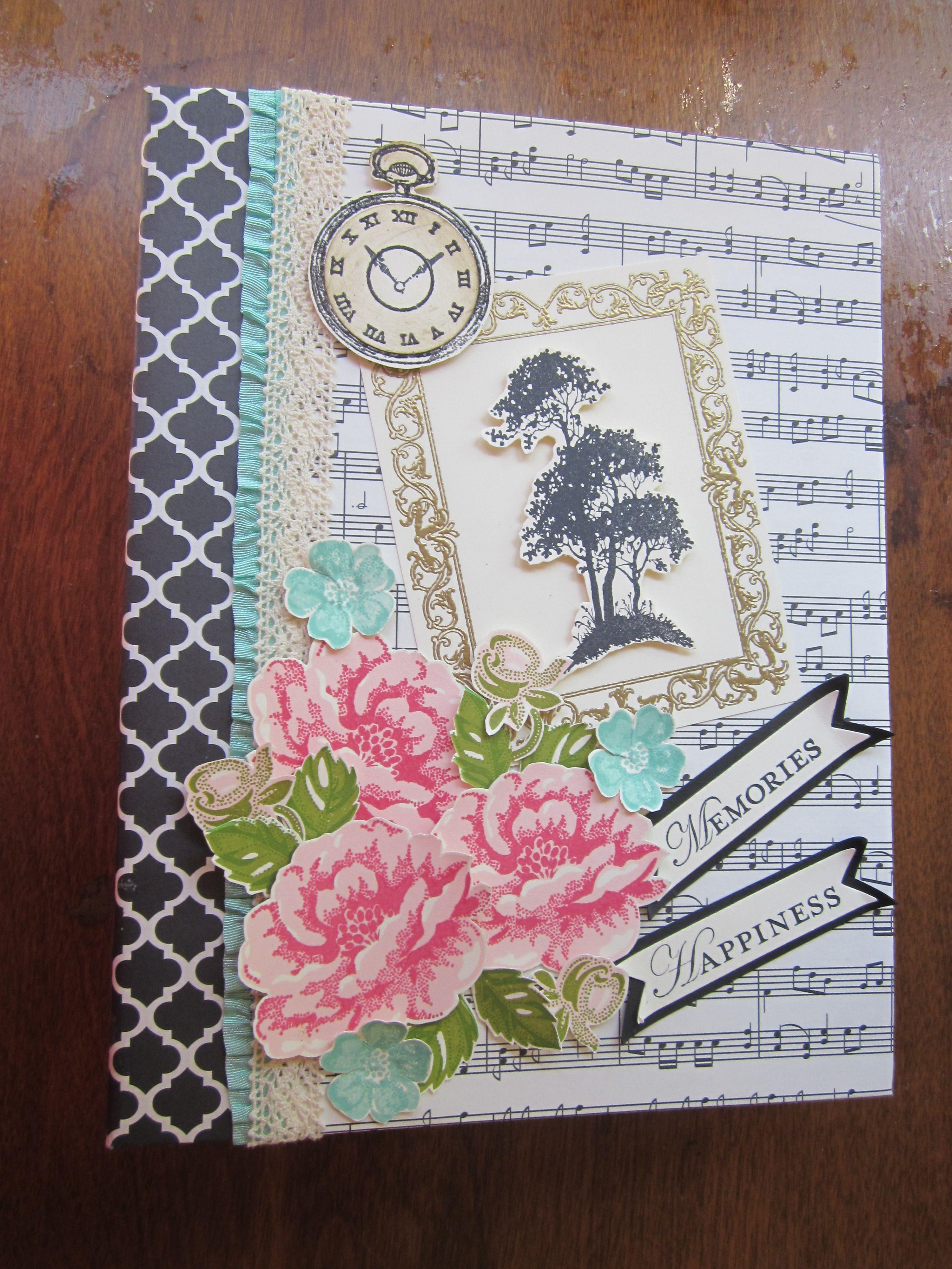 Handmade Scrapbook Cover ~ Scrapbook album inch self adhesive diy album cover of the
