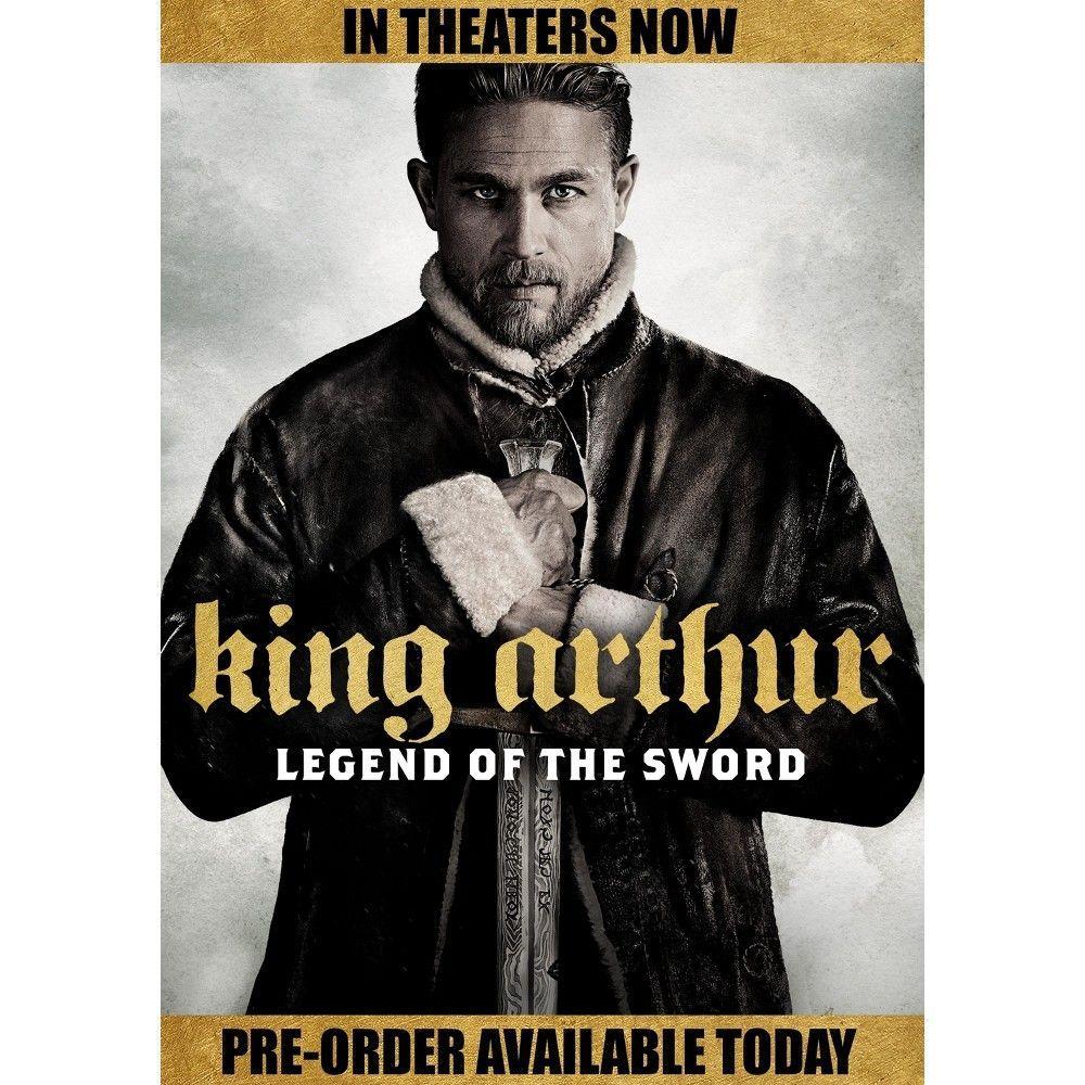 King Arthur Legend Of The Sword Dvd Rei Arthur Filme Rei