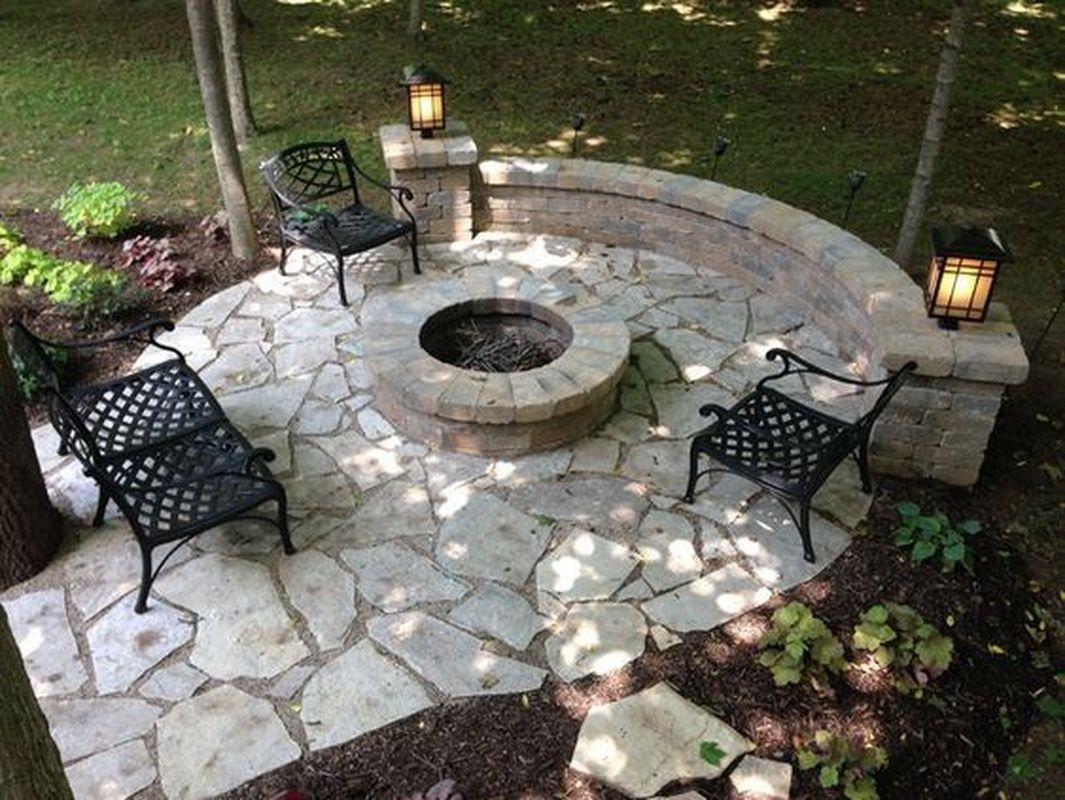 30+ Backyard stone patio ideas information