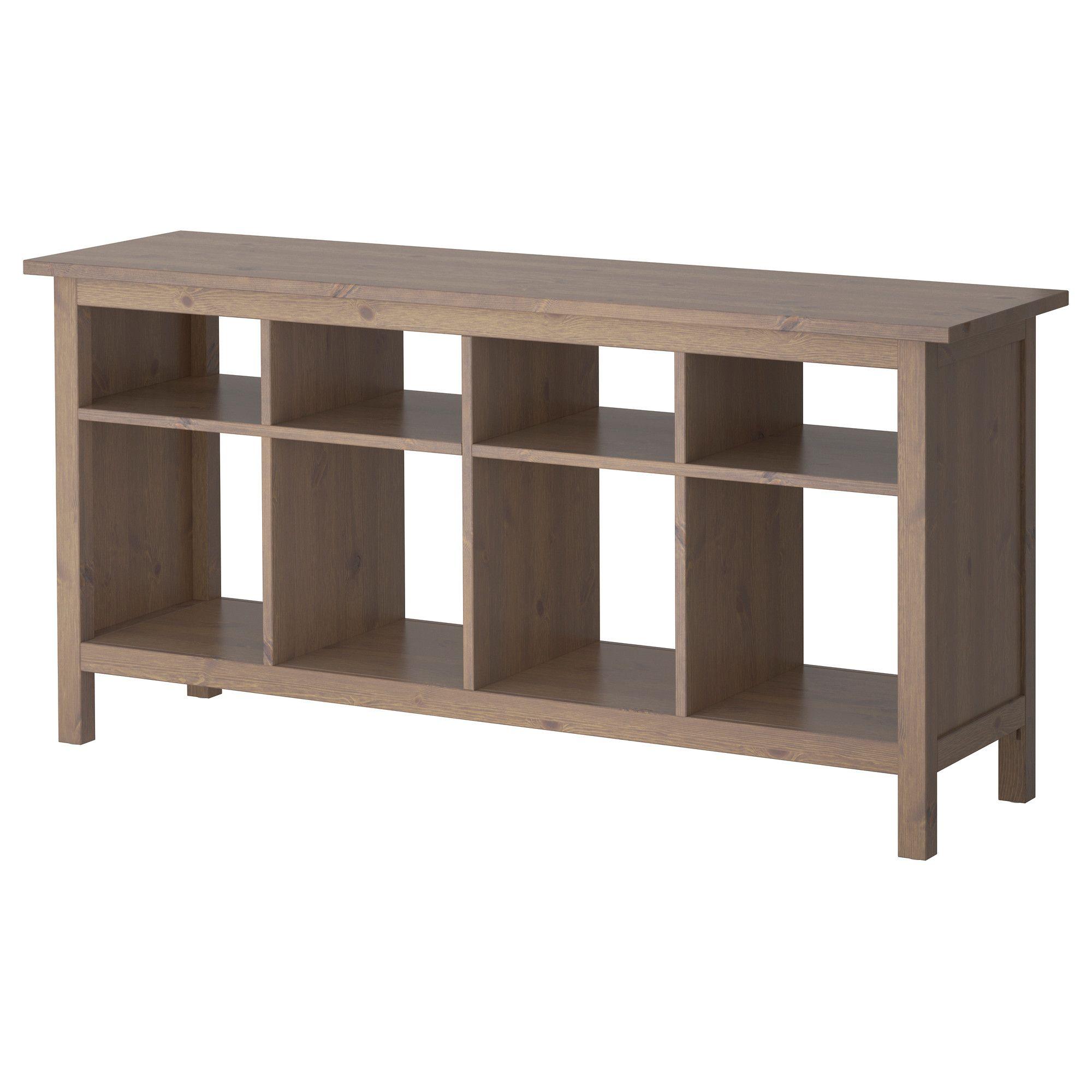 Amazing HEMNES Sofa Table   Gray Brown   IKEA...$179, Add Baskets