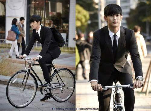 I Like Both Kim Soo Hyun The Bike Man From Stars Best Korean