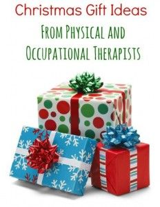 Pediatric Therapy Corner: Holiday Gift Giving Guide from OTs