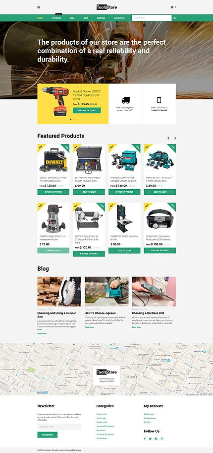 Hardware tools online store template themes business hardware tools online store template themes business responsive maxwellsz