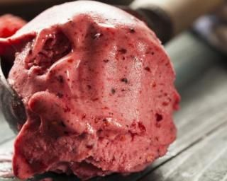 Sorbet minute aux fruits rouges au Companion