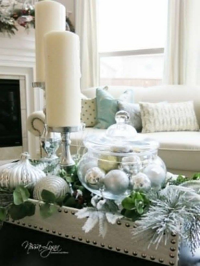 Photo of 20 Lovely Winter Coffee Table Decoration Ideas