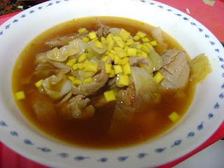 Cooking Outside the Box: Extra Meaty Turkey-Cabbage Soup
