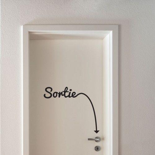 DIY DECO pour chambre du0027ado  un sticker de porte pour geek Teen - comment changer une porte