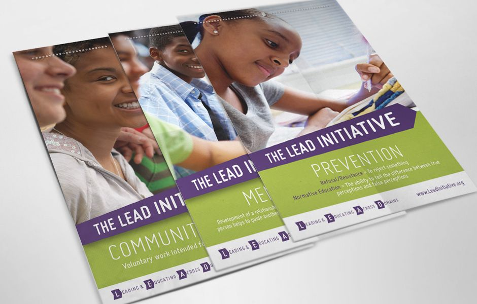 The LEAD Initiative Posters | Design working, My design ...