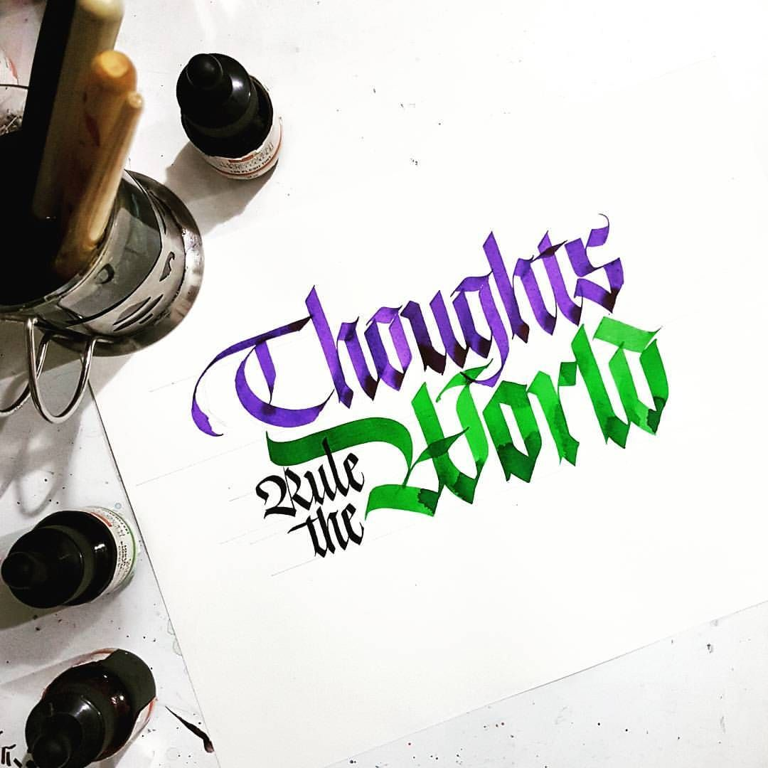 Thoughts Rule The World Automatic Pens