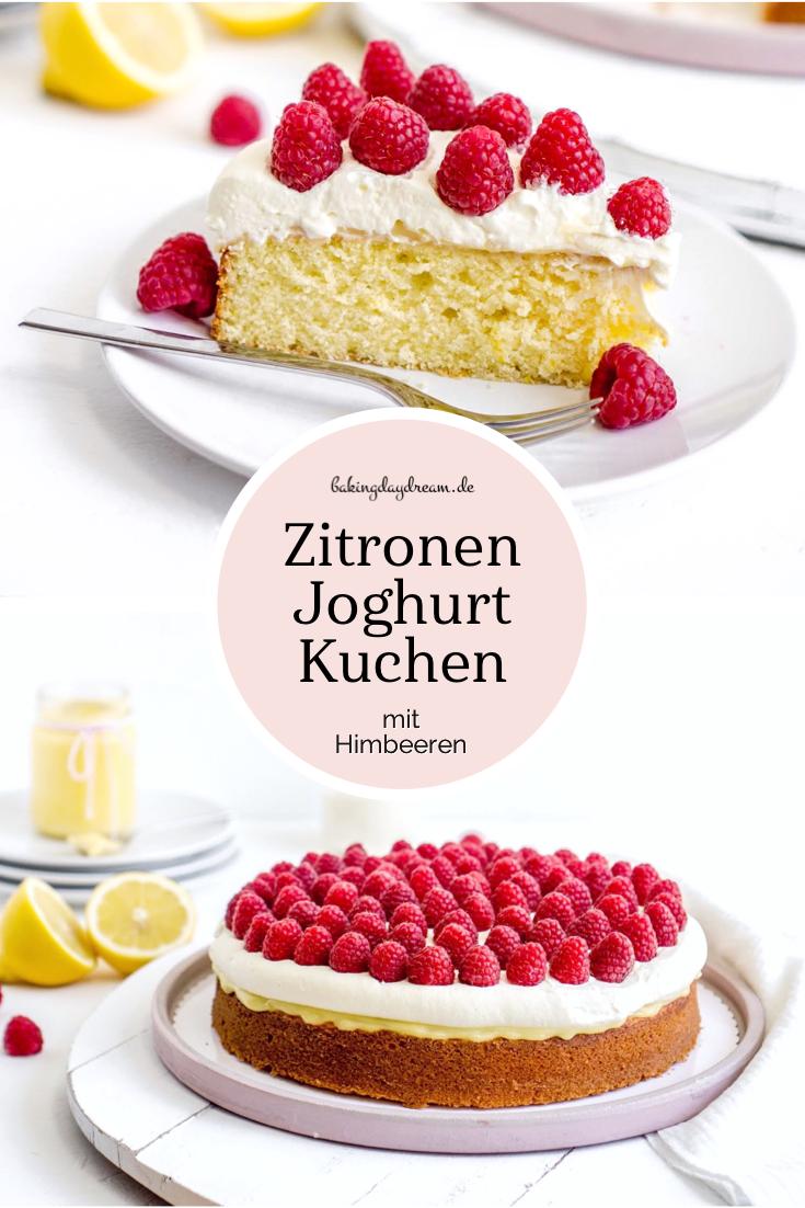 Mohn-Topfen-Torte mit Himbeeren | Kuchen und torten