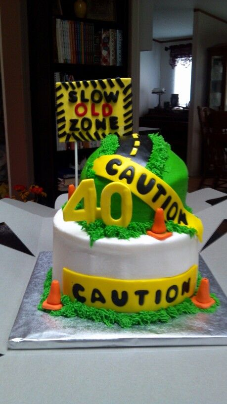 Over The Hill Cake With Images 40th Birthday Cakes 60th