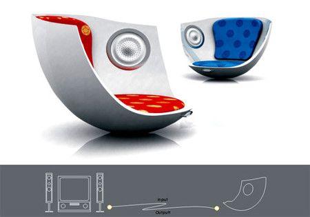 """""""Music Sofa – Built In CD Player/Speaker"""" https://sumally.com/p/21062"""