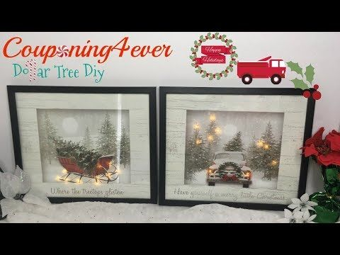 Dollar Tree Diy Light Up Gift Bag Frames How To Youtube Cricut