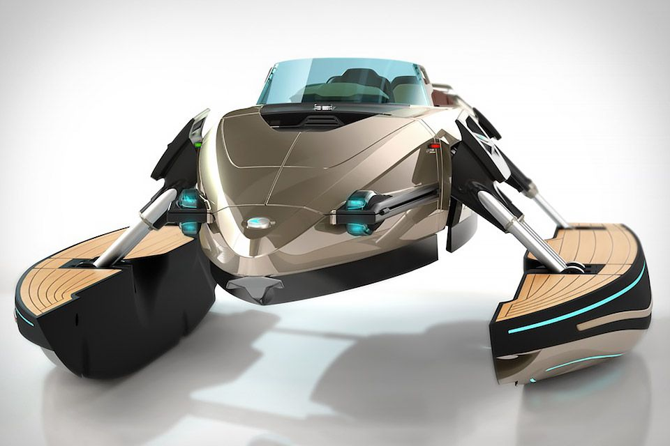 Is it a monohull? A katamaran? A trimaran? Actually, the Kormaran is a bit of all three — and the perfect tender for a luxury yacht. Crafted from carbon fiber, this unique watercraft can function as any of the previously listed boats, as well as a luxury sunbathing platform, and can transform even while on the move.