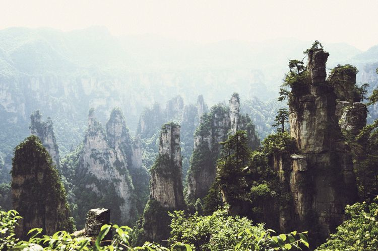 ZhangJiaJie National Forest: The Avatar Mountains in China's Hunan Province ...
