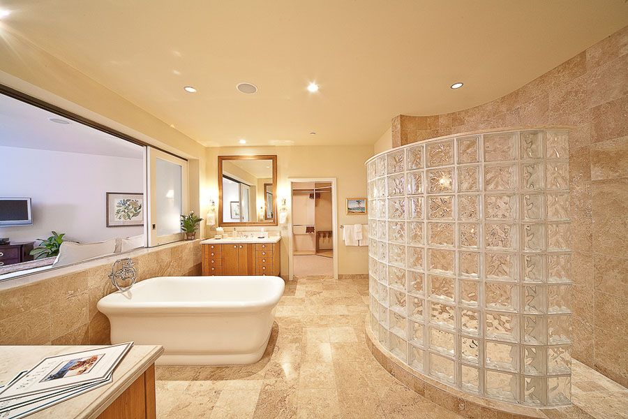Ocean View Master Bedroom Bathroom | Master bedroom ...